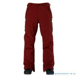 analog zenith pant oxblood front