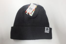Anticorp Grid Lined Beanie Grey