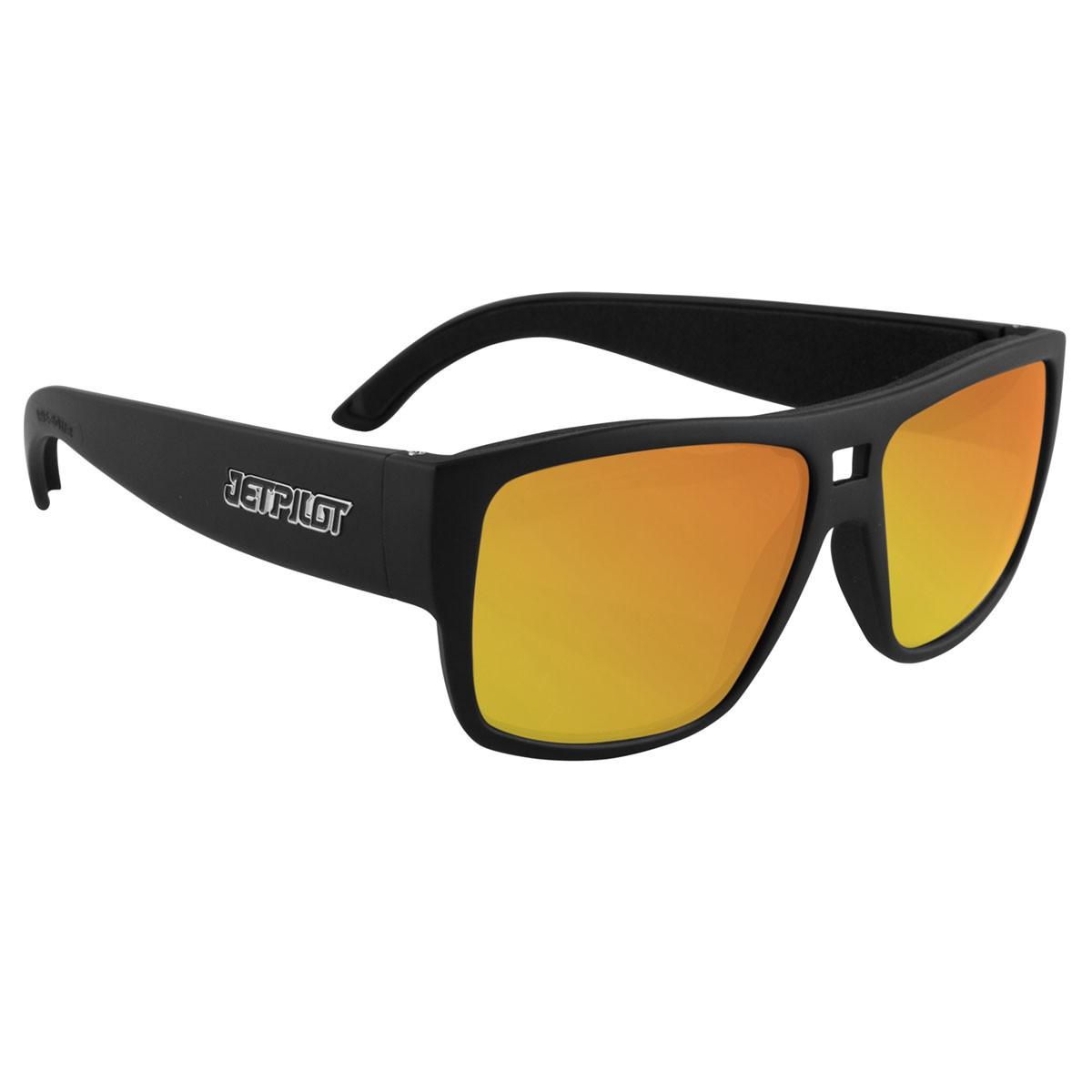 7aeae8e9ad3 Jet Pilot Addict Ride Polarised Floating Sunglasses Blk Yel Mirror