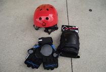 Pads, Helmets, Gloves