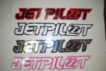 Jetpilot Stickers