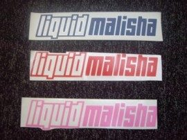 Liquid Malisha Stickers