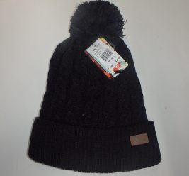 Anticorp Cable Lined Beanie Black