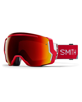 c240af350d21 Smith IO7 Goggles Fire Split ChromaPop With Free Second Lens - Mac s ...