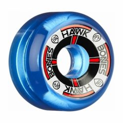 Bones-SPF-Hawk-T-Bone-60mm-x-84b-Clear-Blue-Skateboard-Wheels