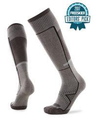 Le Bent Snow Sock Light Grey