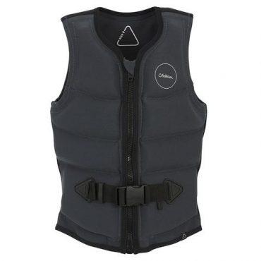 f73004-Follow Entree Ladies Vest-Charcoal-2019-Front