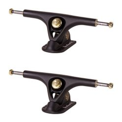 Paris Longboard Trucks V2 180mm 50° Matte Black